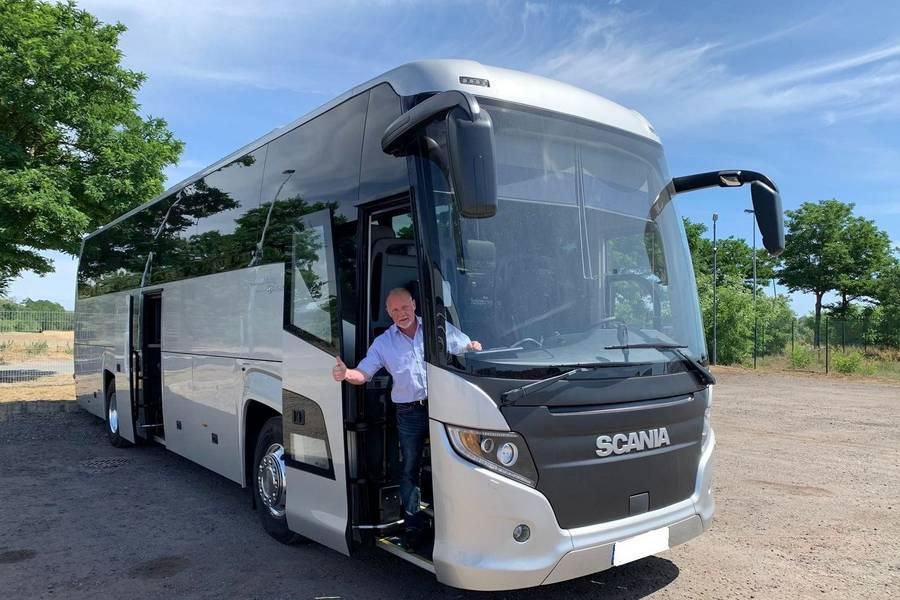 Blick auf die IDL Tours Bus © IDL Tours