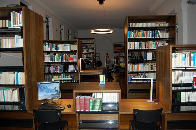 lesesaal der europäischen bibliothek für homöopathie © Europäische Bibliothek für Homöopathie