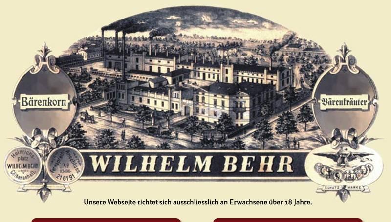 Blick auf die Distillerie W. Behr © Distillerie W. Behr