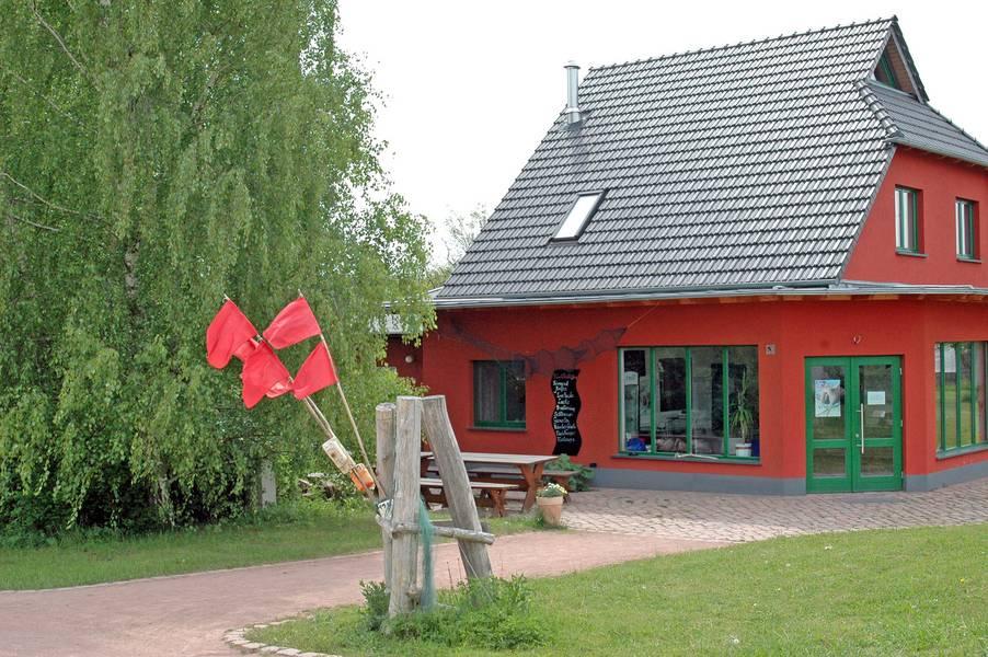Blick auf das Fischhaus Rosenkranz © Fischhaus Rosenkranz