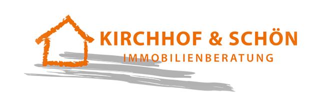 Blick auf das Logo Kirchhof & Schön Immobilienberatung GbR © Kirchhof & Schön Immobilienberatung GbR