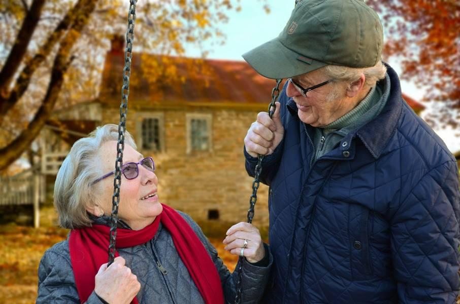 ältere menschen pixabay älter werden
