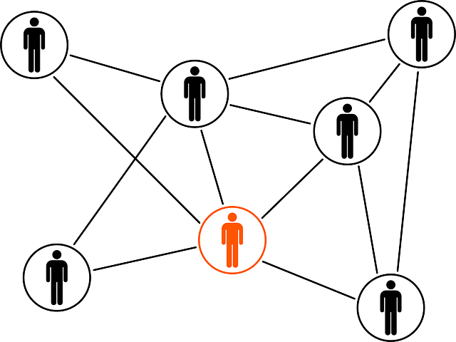 Symbolgrafik Partner Strukturwandel als Netzwerk © Pixabay