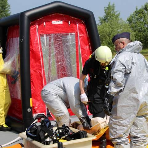 Katastrophenschutz © Landkreis Anhalt-Bitterfeld