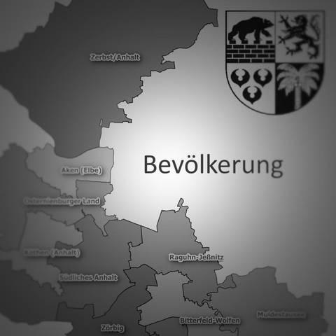 Fakten zur Bevölkerung © Landkreis Anhalt-Bitterfeld