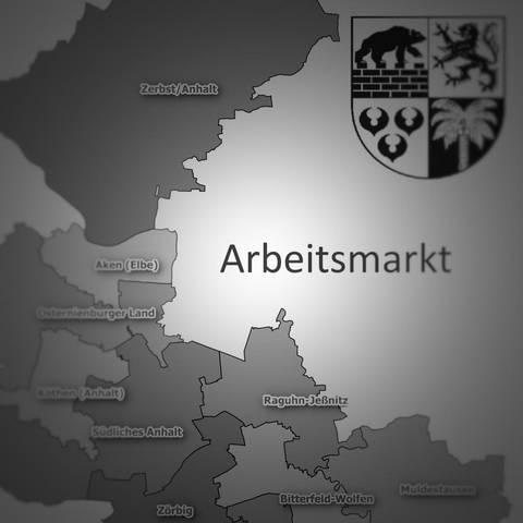 Fakten zum Arbeitsmarkt © Landkreis Anhalt-Bitterfeld