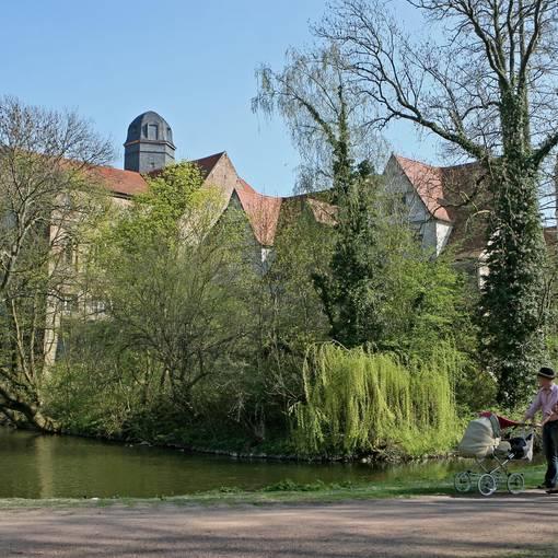 Blick in den Köthener Schlosspark © Christian Ratzel