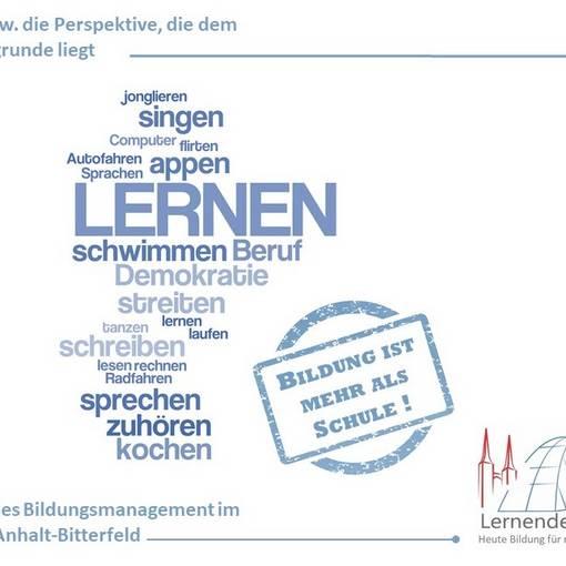 schaubild bildung ist mehr als schule © Landkreis Anhalt-Bitterfeld