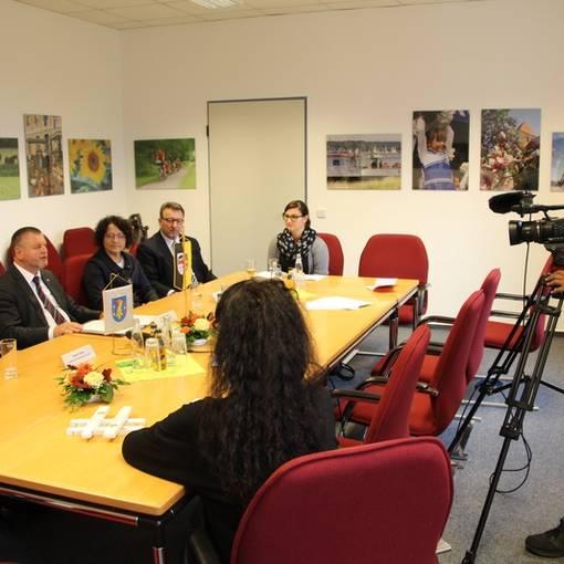 pressekonferenz © Landkreis Anhalt-Bitterfeld