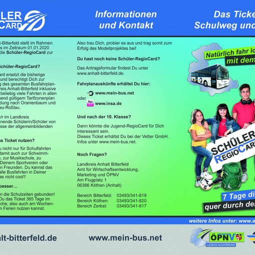 titelseite flyer © Landkreis Anhalt-Bitterfeld