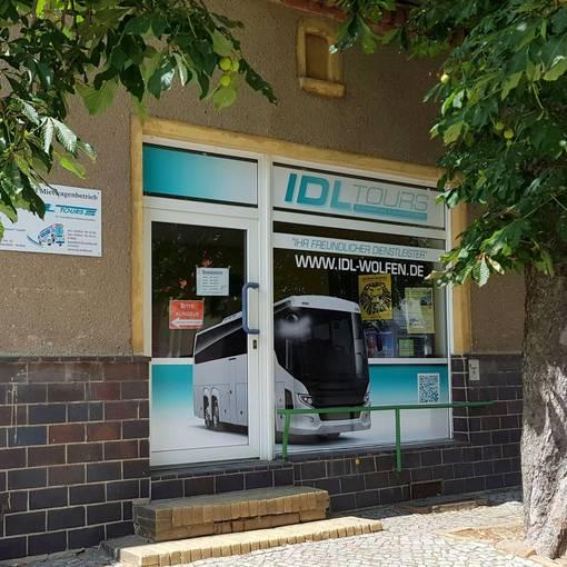 Blick auf die IDL Geschäftsstelle in Wolfen © IDL Tours