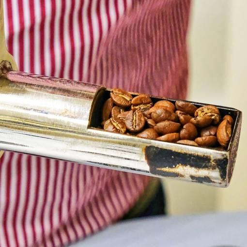 in der Kaffeerösterei Hannemann © Andreas Stedtler