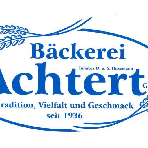 Blick auf das Logo der Bäckerei Achtert © Bäckerei Achtert