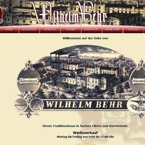 Blick auf die Produkte der Distillerie W. Behr © Distillerie W. Behr