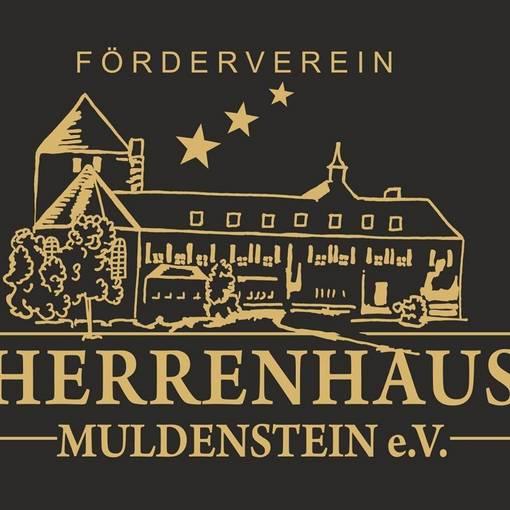 Blick auf das Logo des Fördervereins Herrenhaus Muldenstein e.V. © Förderverein Herrenhaus Muldenstein e.V.