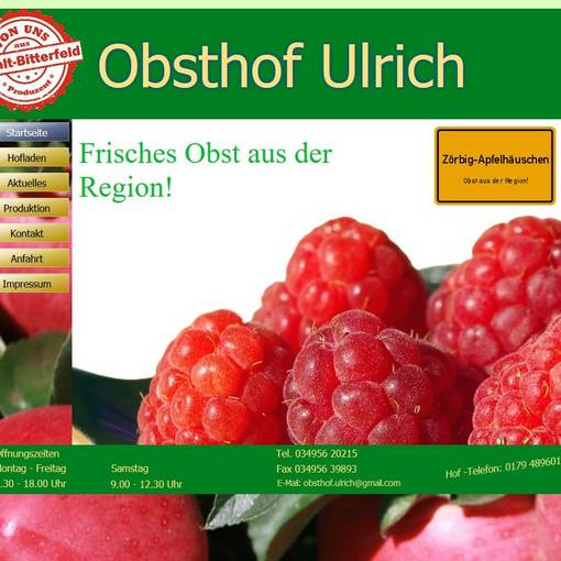 Blick Obsthof Ulrich © Obsthof Ulrich